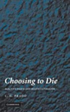 Choosing to Die: Elective Death and…