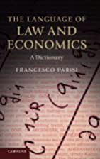 The Language of Law and Economics: A…