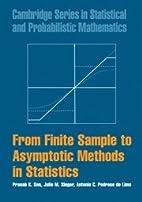 From Finite Sample to Asymptotic Methods in…