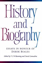 History and Biography: Essays in Honour of…