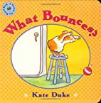 What Bounces? (Guinea Pig Board Books) by…