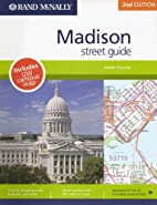 Rand McNally Madison, Wisconsin Street Guide…