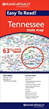 Tennessee Easy-To-Read by Rand McNally
