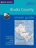 Rand McNally StreetFinder Map: Bucks County…
