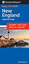 New England Map (Rand McNally Easy to Fold!)…