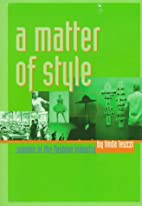 A matter of style women in the fashion…