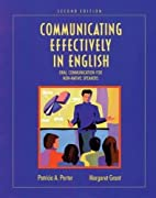 Communicating Effectively in English: Oral…