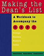 Making the dean's list : a workbook to…