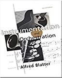 Blatter, Alfred: Instrumentation and Orchestration