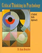 Critical Thinking in Psychology: A Unified…