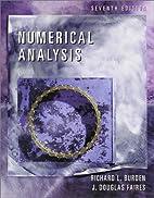 Numerical Analysis by Richard L. Burden