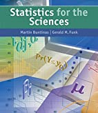 Statistics for The Sciences by Martin…