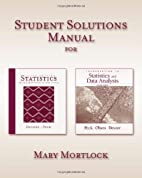 Student Solutions Manual for Devore/Peck's…