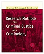 Research Methods for Criminal Justice and…