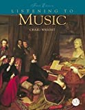 Craig M. Wright: Listening to Music (with CD)
