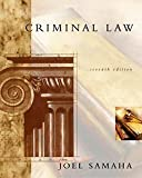 Samaha, Joel: Criminal Law With Infotrac