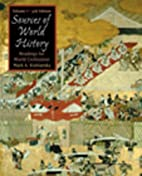 Sources in World History, Volume I by Mark…
