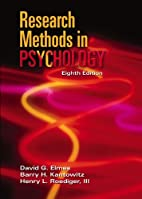 Research Methods in Psychology by David G.…