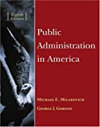Public administration in America by Michael…