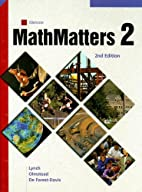 MathMatters: Book 2, Student Edition by…