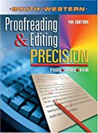 Proofreading & Editing Precision by Larry G.…