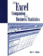 An Excel Companion for Business Statistics…