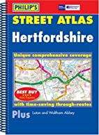 Hertfordshire (Street Atlas)