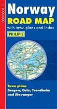 Norway Road Map (Philip's Road Atlases &…
