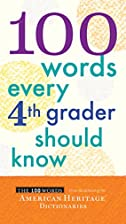 100 Words Every Fourth Grader Should Know by…