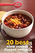 Betty Crocker 20 Best Slow Cooker Dinner…