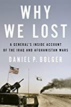 Why We Lost: A General's Inside Account…