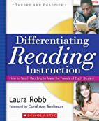 Differentiating Reading Instruction: How to…
