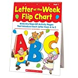 Einhorn, Kama: Letter of the Week Flip Chart: Write-On/Wipe-Off Activity Pages That Introduce Each Letter From A to Z