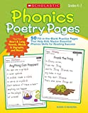 Einhorn, Kama: Phonics Poetry Pages: 50 Fill-in-the-Blank Practice Pages That Help Kids Master Essential Phonics Skills for Reading Success