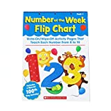 Einhorn, Kama: Number of the Week Flip Chart: Write-On/Wipe-Off Activity Pages That Teach Each Number From 0 to 30