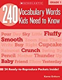 Einhorn, Kama: 240 Vocabulary Words Kids Need to Know: Grade 1: 24 Ready-to-Reproduce Packets That Make Vocabulary Building Fun & Effective
