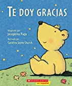 Te doy gracias: (Spanish language edition of…