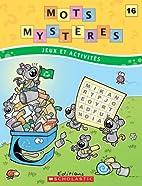 Mots mystères n° 16 by Julie Lavoie