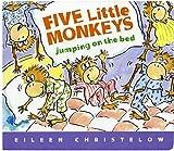 Christelow, Eileen: Five Little Monkeys Jumping on the Bed Lap Board Book (A Five Little Monkeys Story)