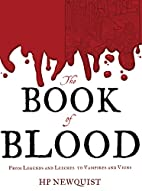 The Book of Blood: From Legends and Leeches…