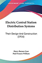 Electric Central Station Distribution…