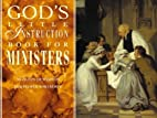 God's Little Instruction Book for Ministers…