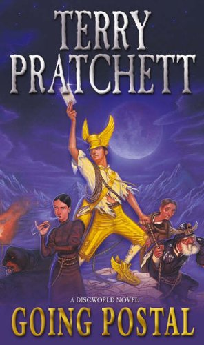 Cover of Going Postal by Terry Pratchett