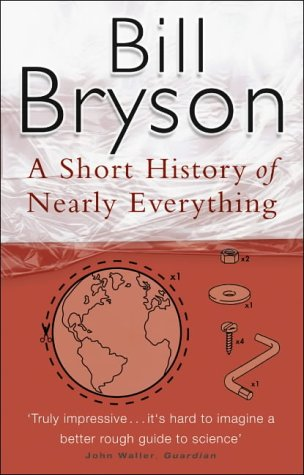 Cover of A Short History of Nearly Everything by Bill Bryson