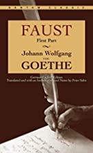 Faust, Part One by Johann Wolfgang von…