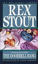 The Doorbell Rang by Rex Stout