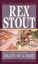 Death of a Doxy by Rex Stout