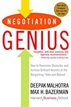 Negotiation Genius: How to Overcome…