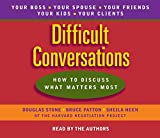 Douglas Stone: Difficult Conversations