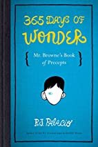 365 Days of Wonder: Mr. Browne's Book…